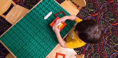 An early sign of autism in toddlers can be found in how they play with toys.