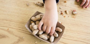 A common allergy in toddlers is a food allergy.