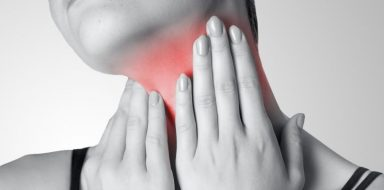 A symptom of mono can be swollen lymph nodes.